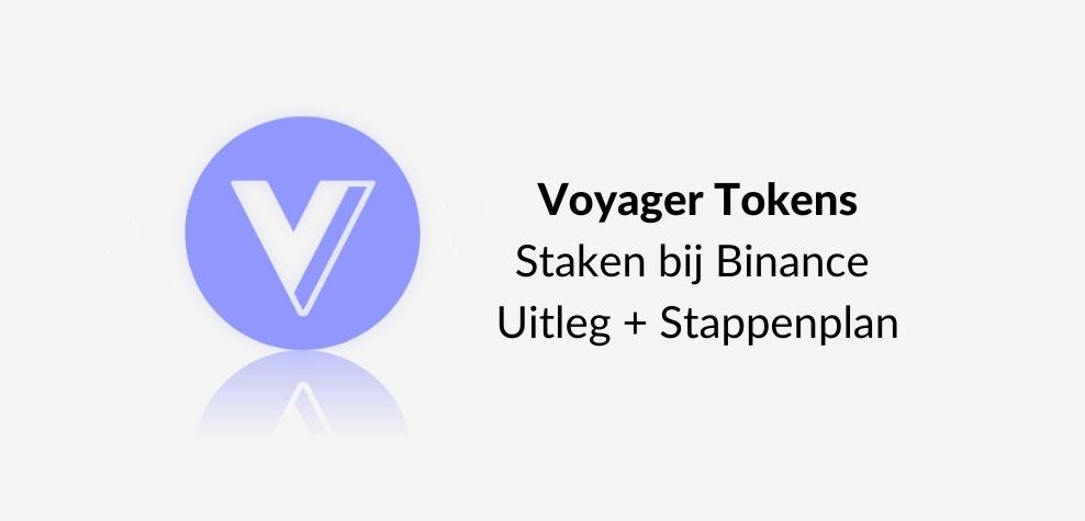 Voyager Crypto Coin Staken Uitleg